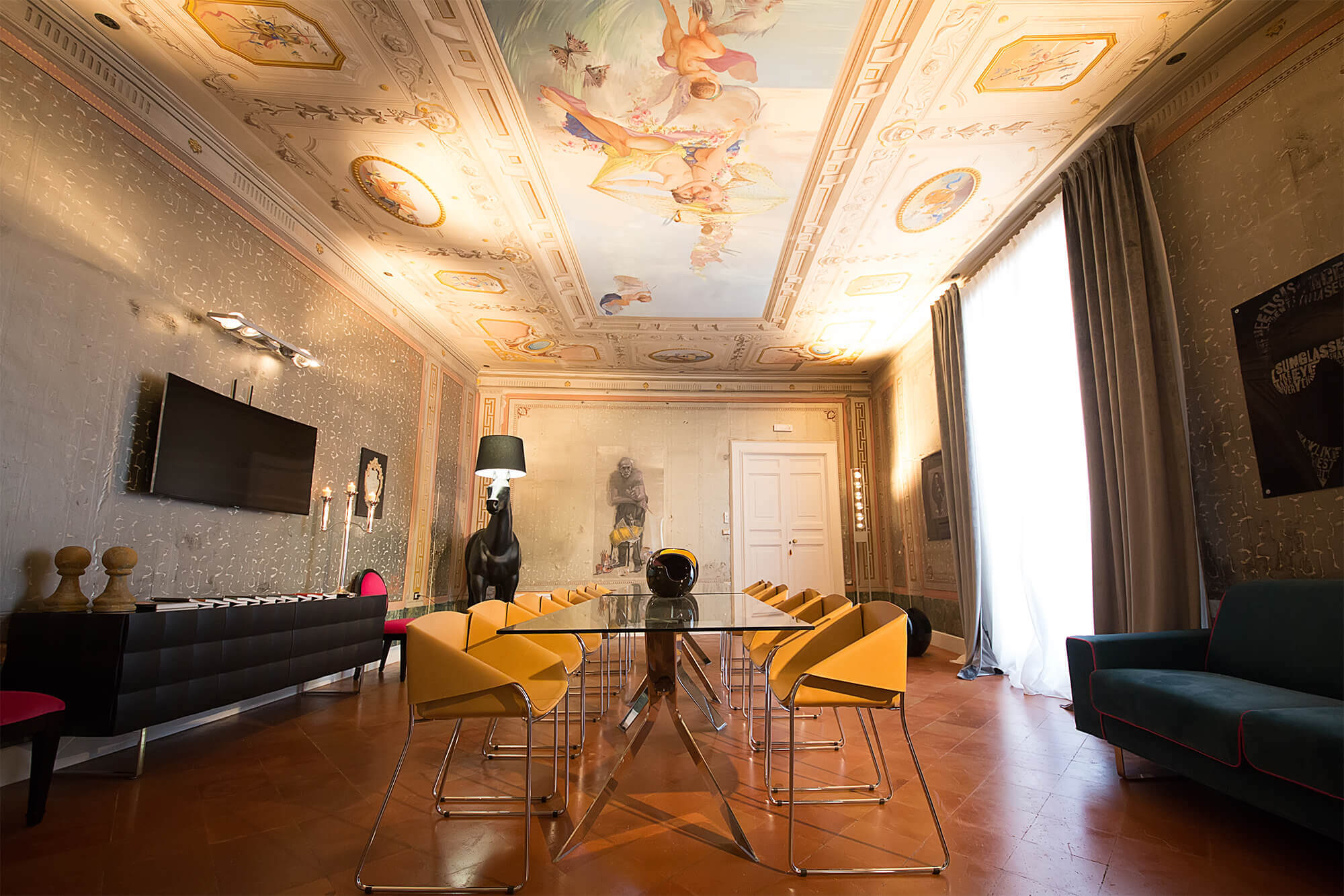 Palazzo Cannavina - dimora storica Campobasso - Salone delle cerimonie