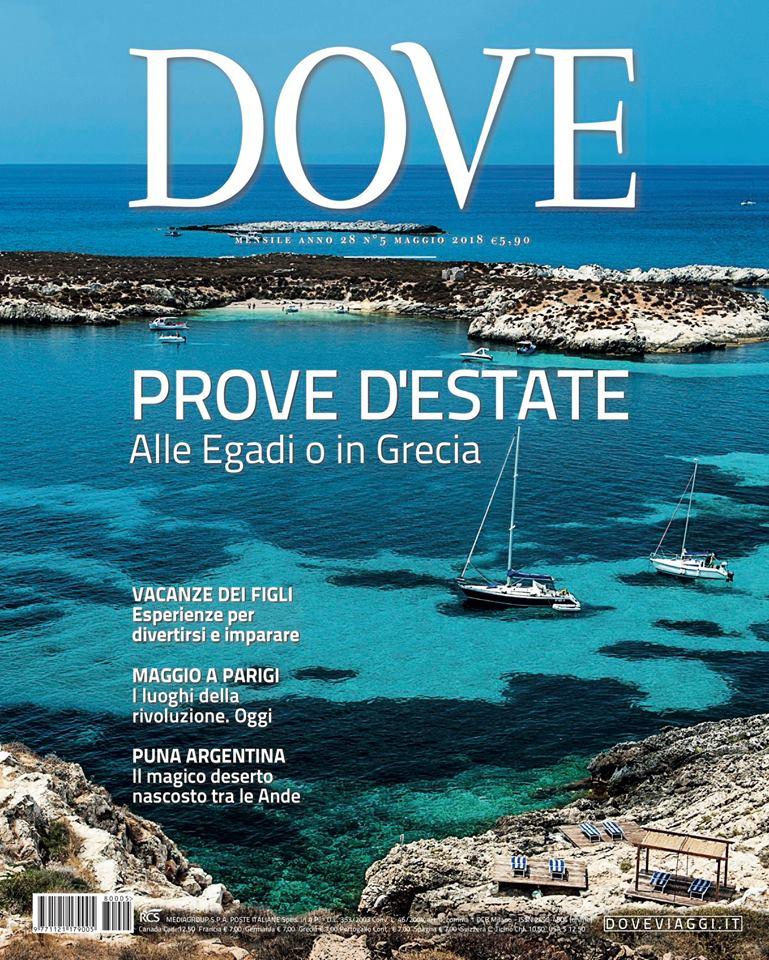 """Siamo presenti sul numero di maggio di """"DOVE""""!"""
